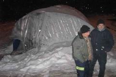 sneg blokada